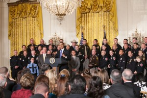 """""""President Obama honors Top Cops at White House reception"""""""