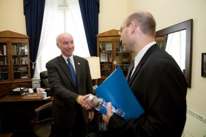 """""""Rep Joe Courtney CT with Constituent"""""""